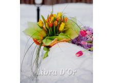 Тюльпаны на снегу, такая у нас Весна!!!
